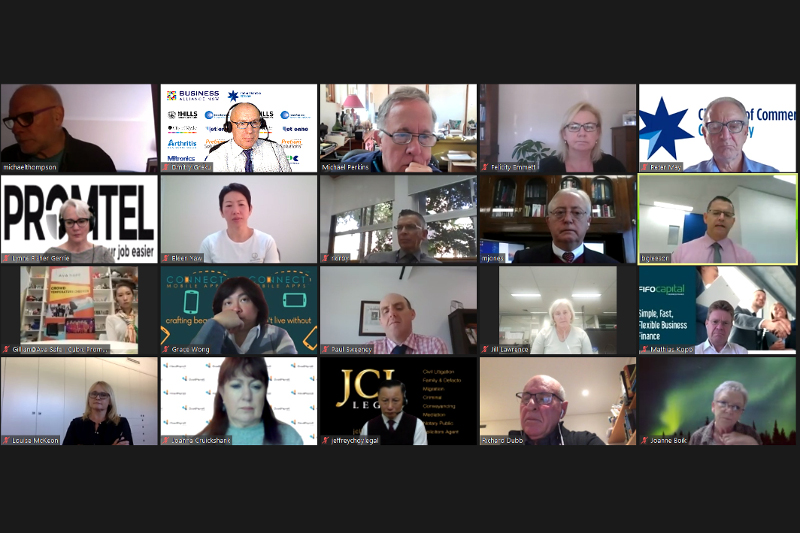 Business Alliance NSW & CBD Sydney Chamber Virtual Networking Event - Expert Presentation - #1